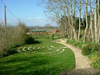 Millennium Garden Hinton St Mary