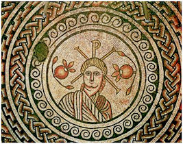 The Roman Mosaic found in 1963