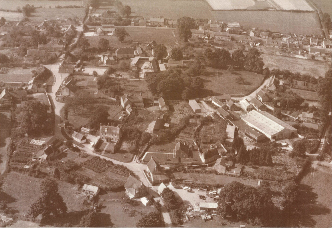 Village from the Air Looking East 1972