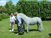 Gardens Open - Horse Sculpture