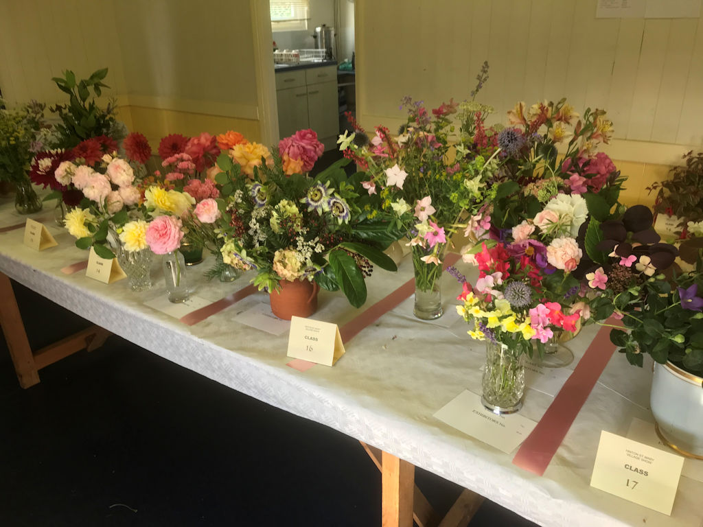 village show 2019 - flower display