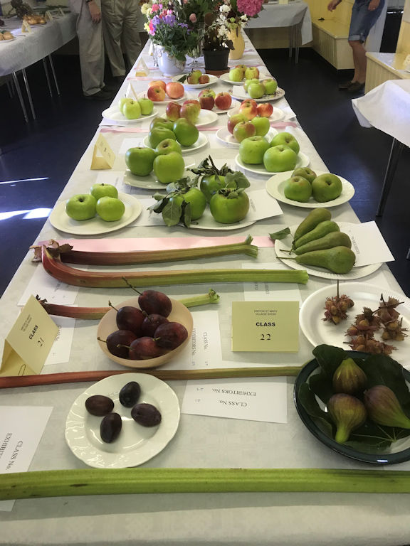 village show 2019 - fruit display